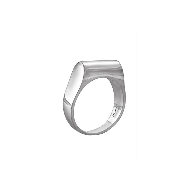 High Top Ring in Sterling Silver