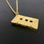 Edge Only X Electronic Sheep Men's Mixed Tape Pendant in Gold vermeil B Side