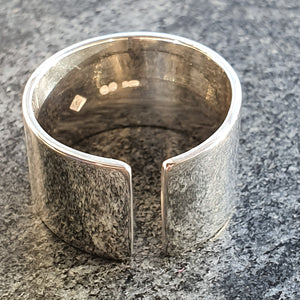 Edge Only Men's Gap Ring in sterling silver