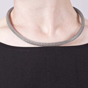 6mm Stainless Steel Mesh Necklace