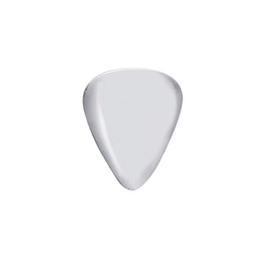 Edge Only Plectrum Pin in Sterling Silver
