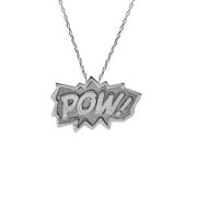 Edge Only POW Pendant XL in Sterling Silver