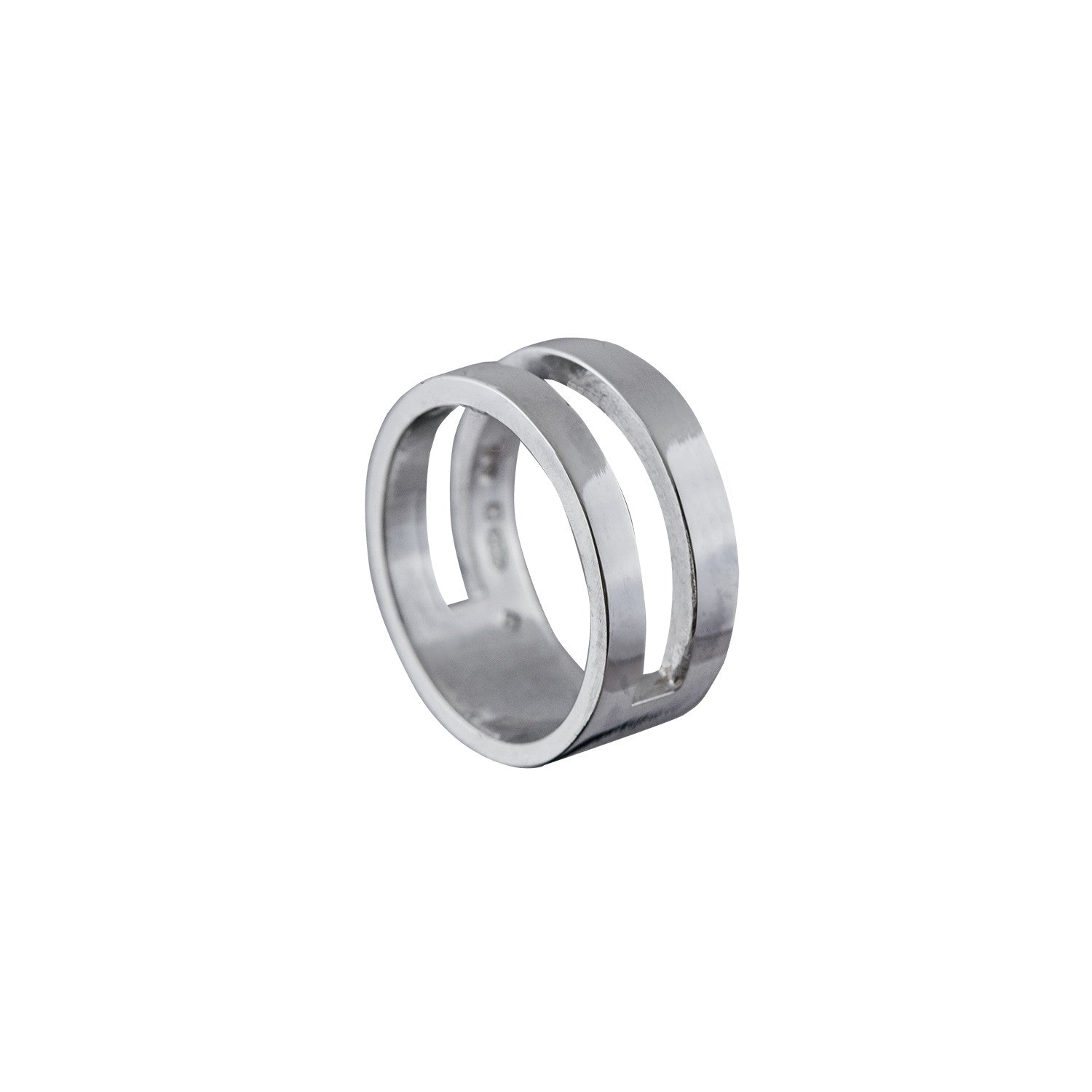 Parallel Ring in Sterling Silver