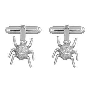 Edge Only Spotted Bug Cufflinks in Sterling Silver