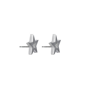 Edge Only Megastar earrings in sterling silver