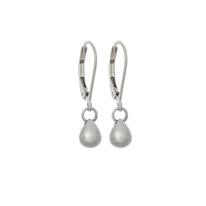 Teardrop Earrings in Sterling Silver