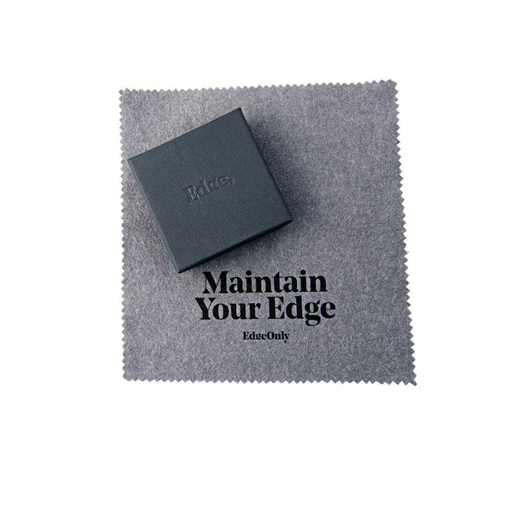 Edge Only Box and Silver Polishing Cloth