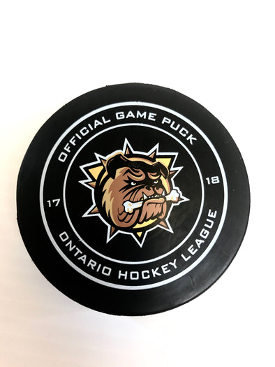 2017 Official Game Puck