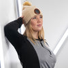 Faux Fur Ladies Pom Pom Toque