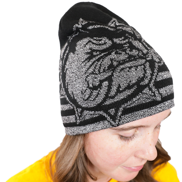 2018 Strata Knit-In-Black Toque