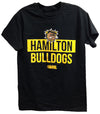 Hamilton Bulldogs Black T-Shirt