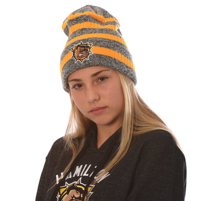 CCM Toque - grey with stripe