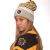 CCM toque with oversized pom