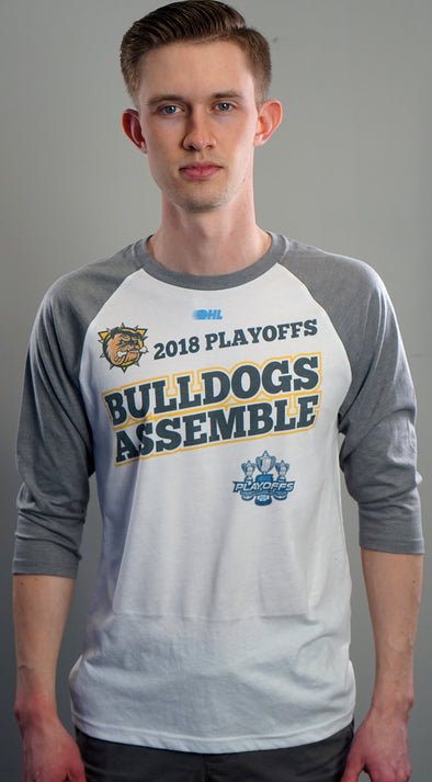 "2018 Playoff ""Bulldogs Assemble"" Baseball Shirt"