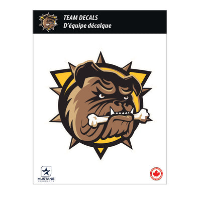 "Individual Team Decal 5""x7"""