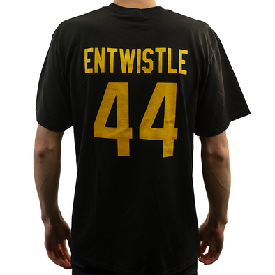 Name & Number t-shirt - Entwistle