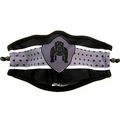 Stealth Design Sublimated Mask - Adjustable straps