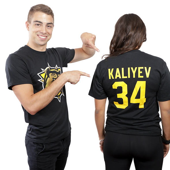 Name & Number t-shirt - Kaliyev