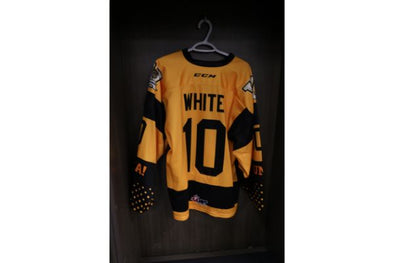 #10 Gavin White 2019-2020 5 Year Anniversary Warm Up Jersey
