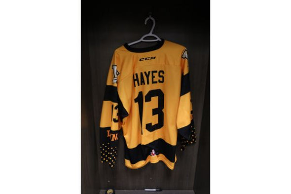 #13 Avery Hayes 2019-2020 5 Year Anniversary Warm Up Jersey
