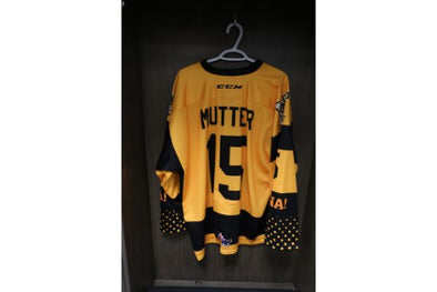 #15 Navrin Mutter 2019-2020 5 Year Anniversary Warm Up Jersey