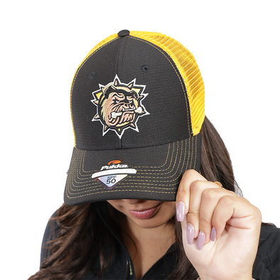 Primary Mesh Snapback - Black / Athletic gold
