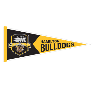 2018 OHL Champions Bulldogs Pennant