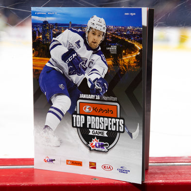 2020 Kubota CHL/NHL Top Prospects Game Program