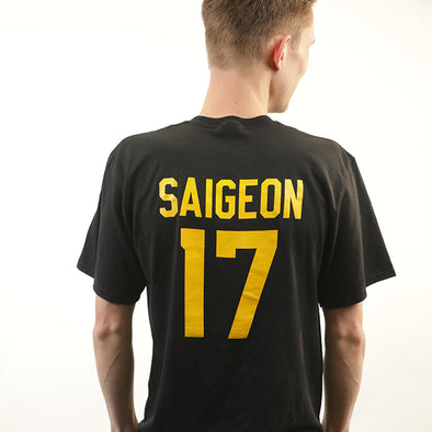 Name & Number t-shirt - Saigeon