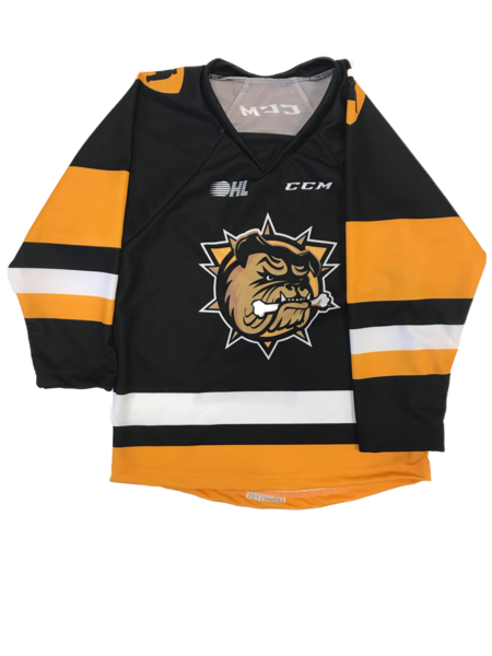 CCM Youth Sublimated Jersey (Black)