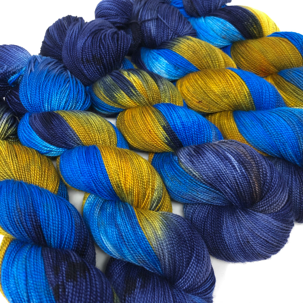 Mantua Merino Silk Sock Yarn Starry Night