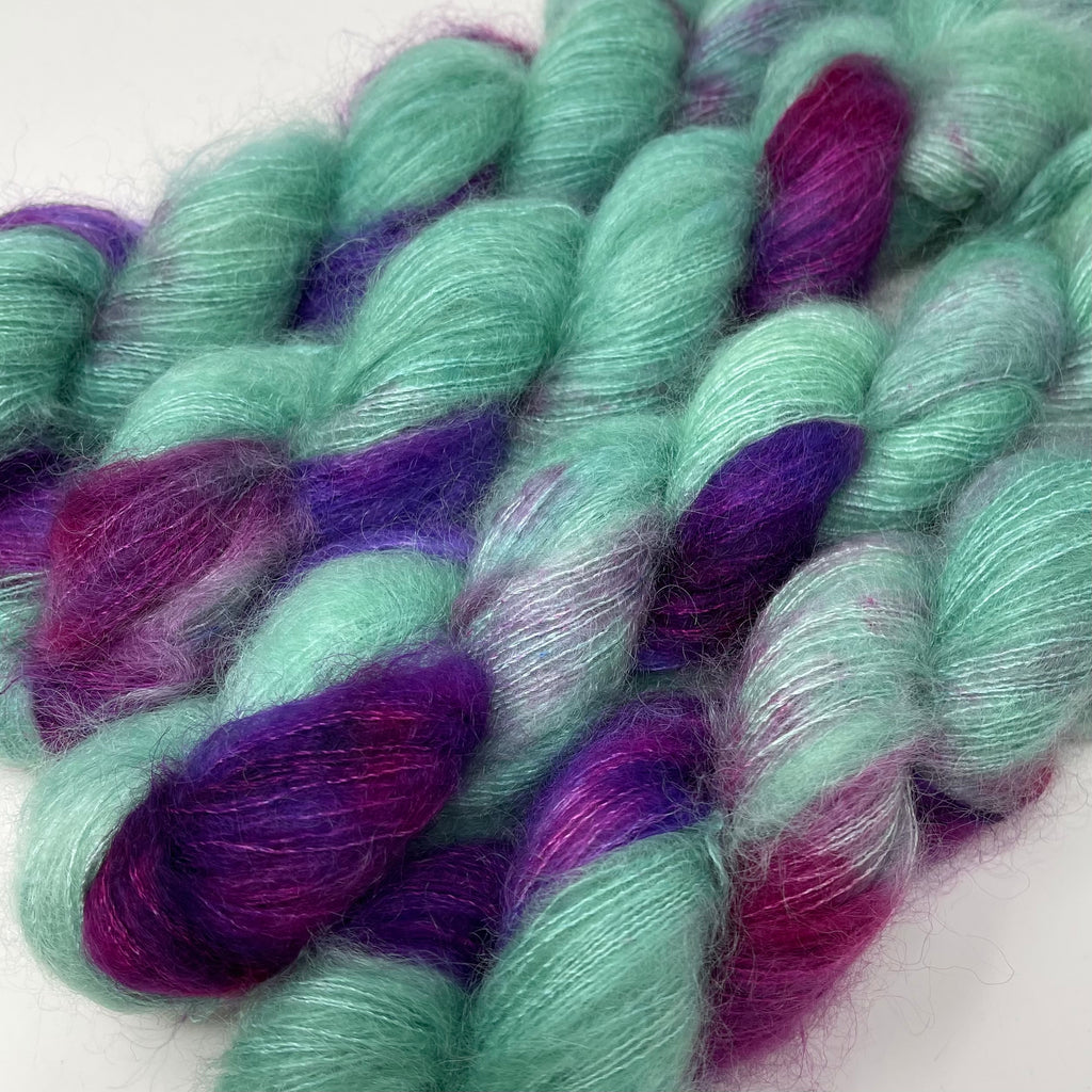 Fort Night Mohair and Silk Tourmaline