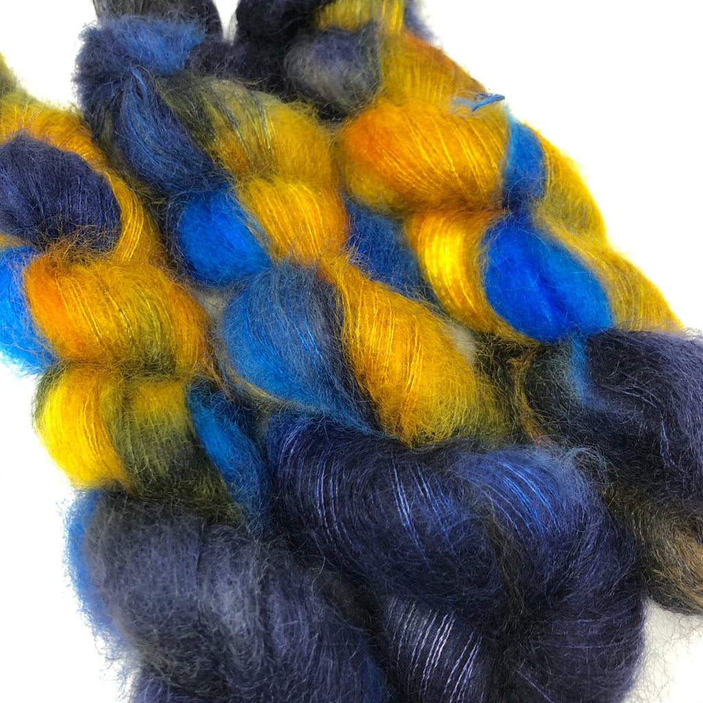 Fort Night Mohair and Silk Starry Night