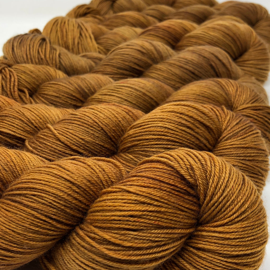 Good Juju Sock yarn Caramel
