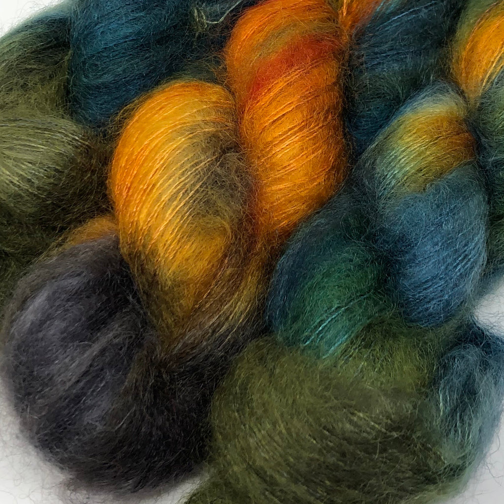 Fort Night Mohair and Silk Partridge