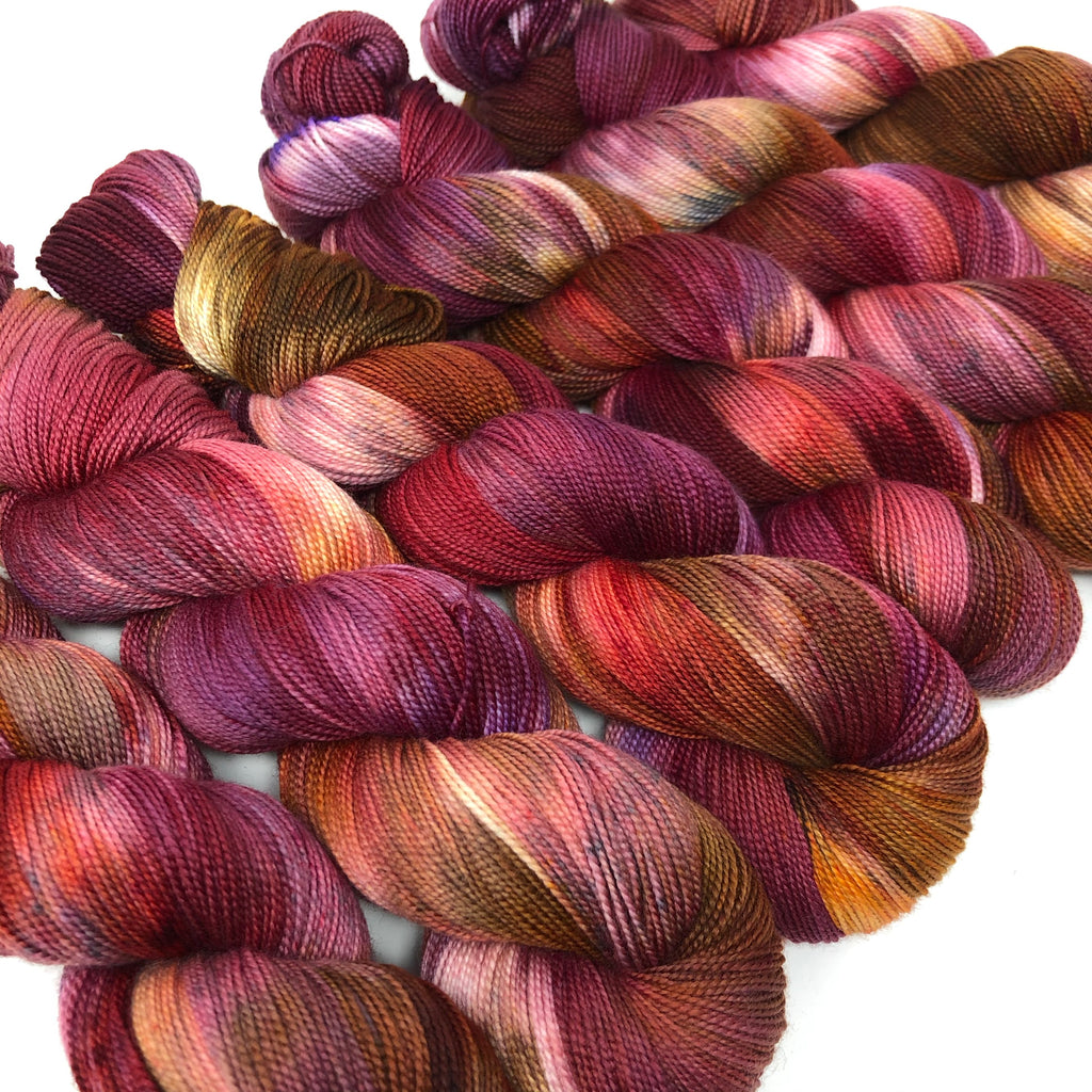 Mantua Merino Silk Sock Yarn Rosa