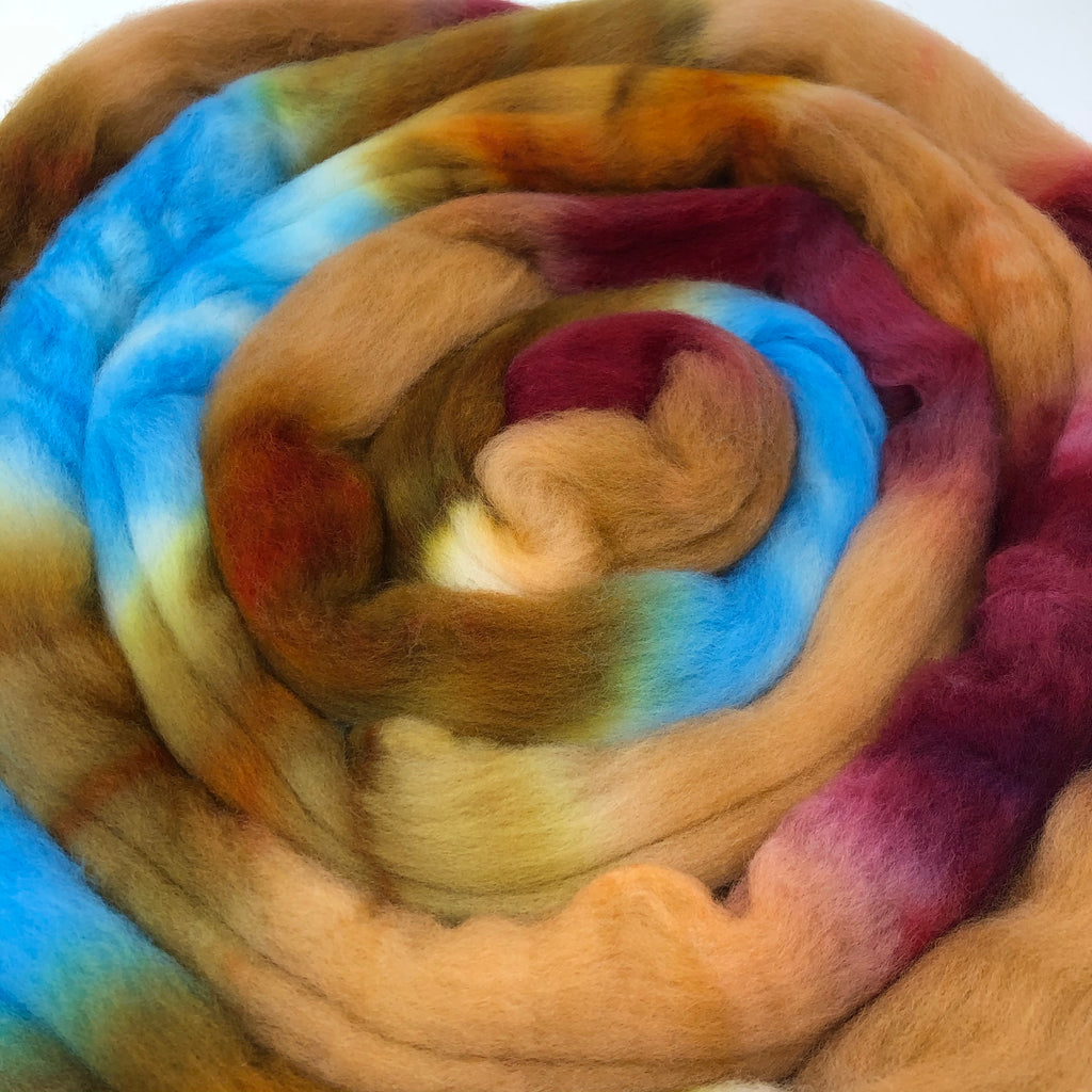 Polwarth combed top Mohave