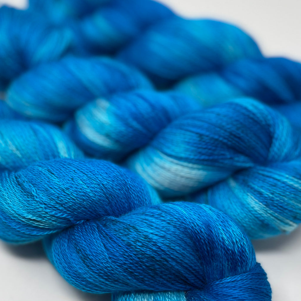 Luna Lace Yarn Aquamarine