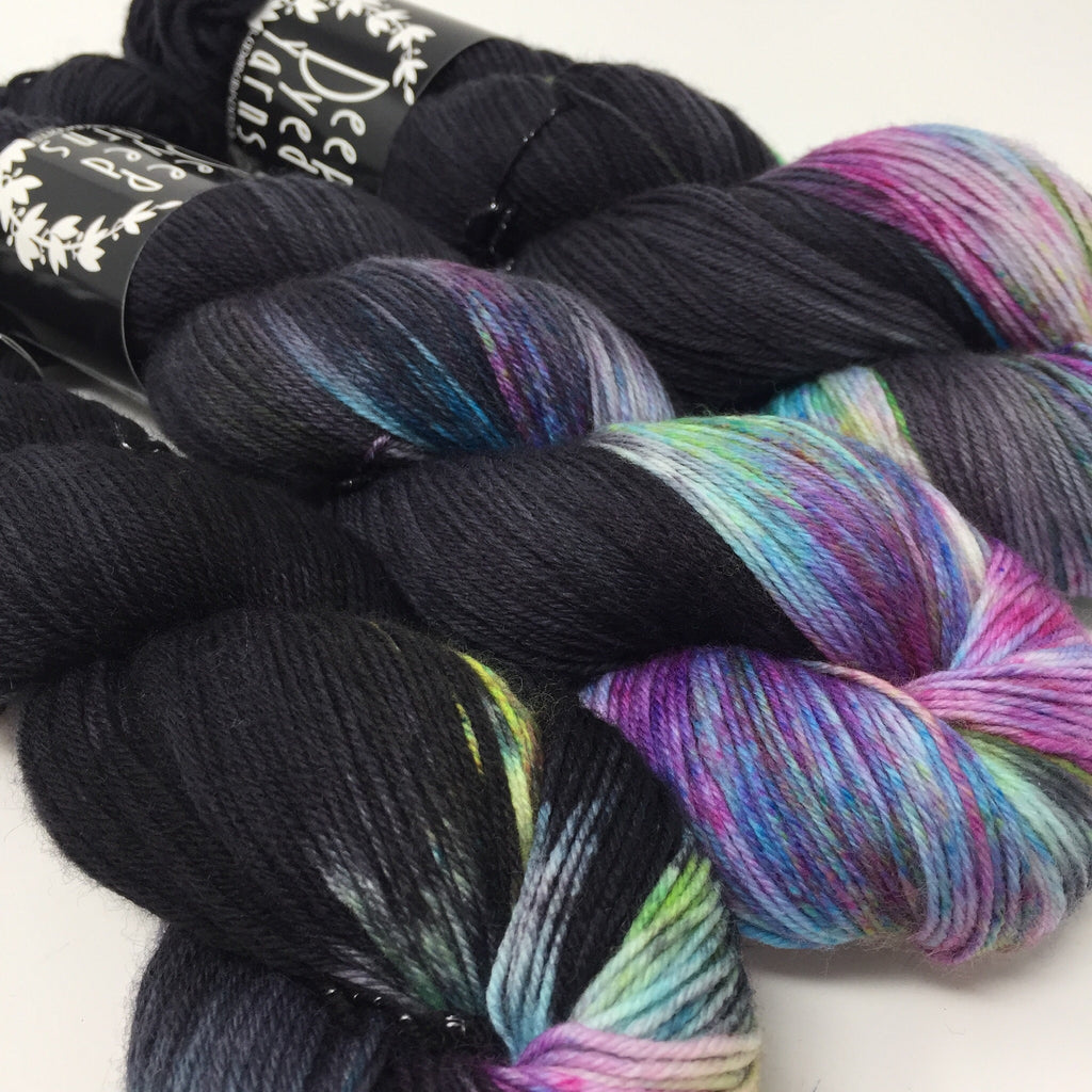 Good Juju Sock yarn Nebula