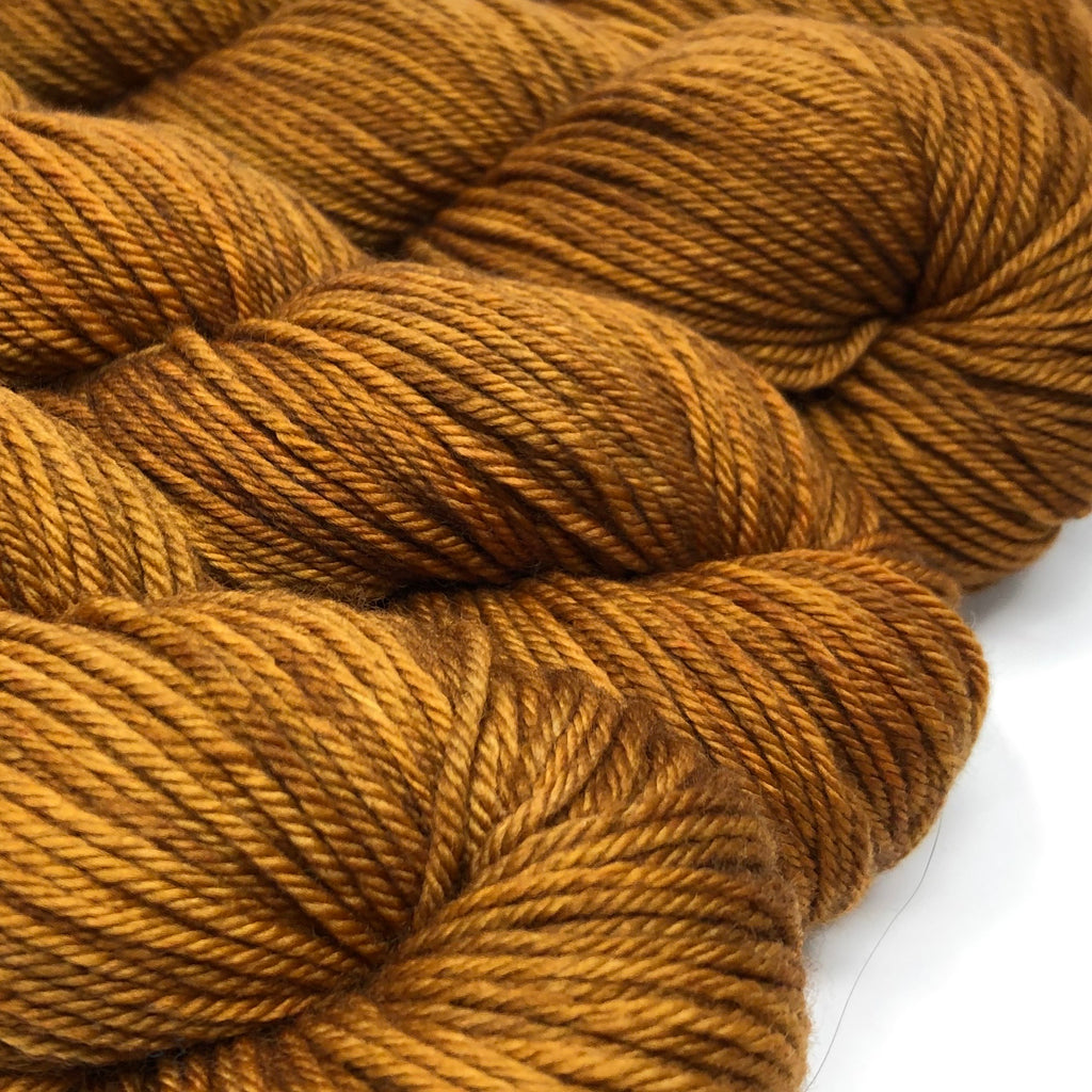 Grit Merino Worsted Weight yarn Caramel