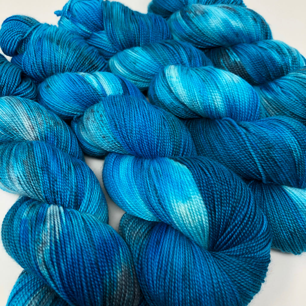 Mantua Merino Silk Sock Yarn Aquamarine