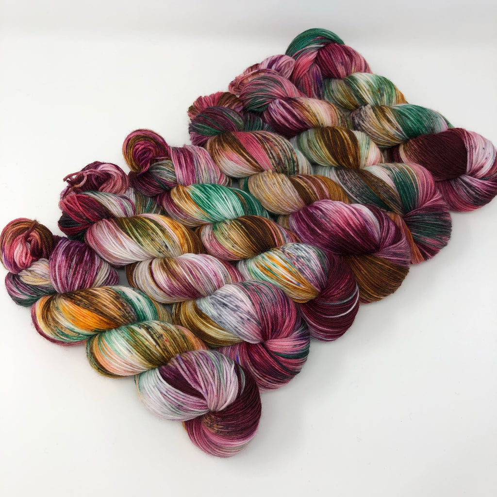 Good Juju Sock yarn Sea Glass