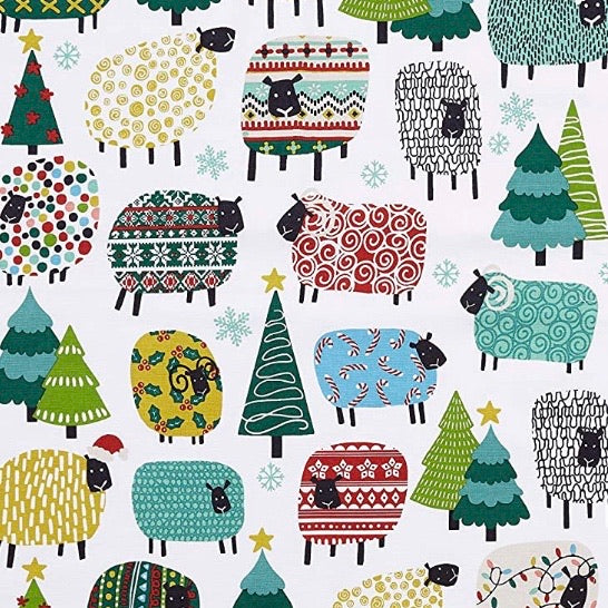 Ulster Weavers Christmas Sheep tea towel