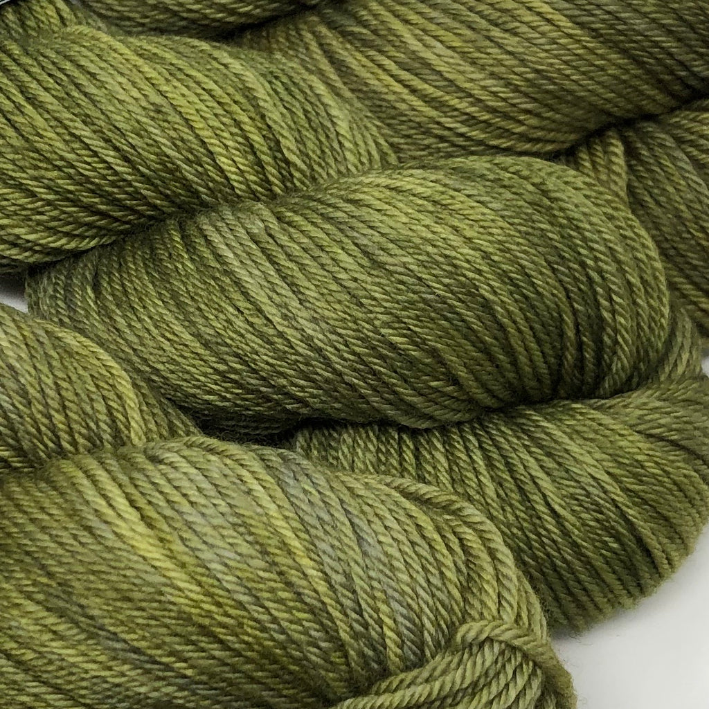 Grit Merino Worsted Weight yarn Thyme