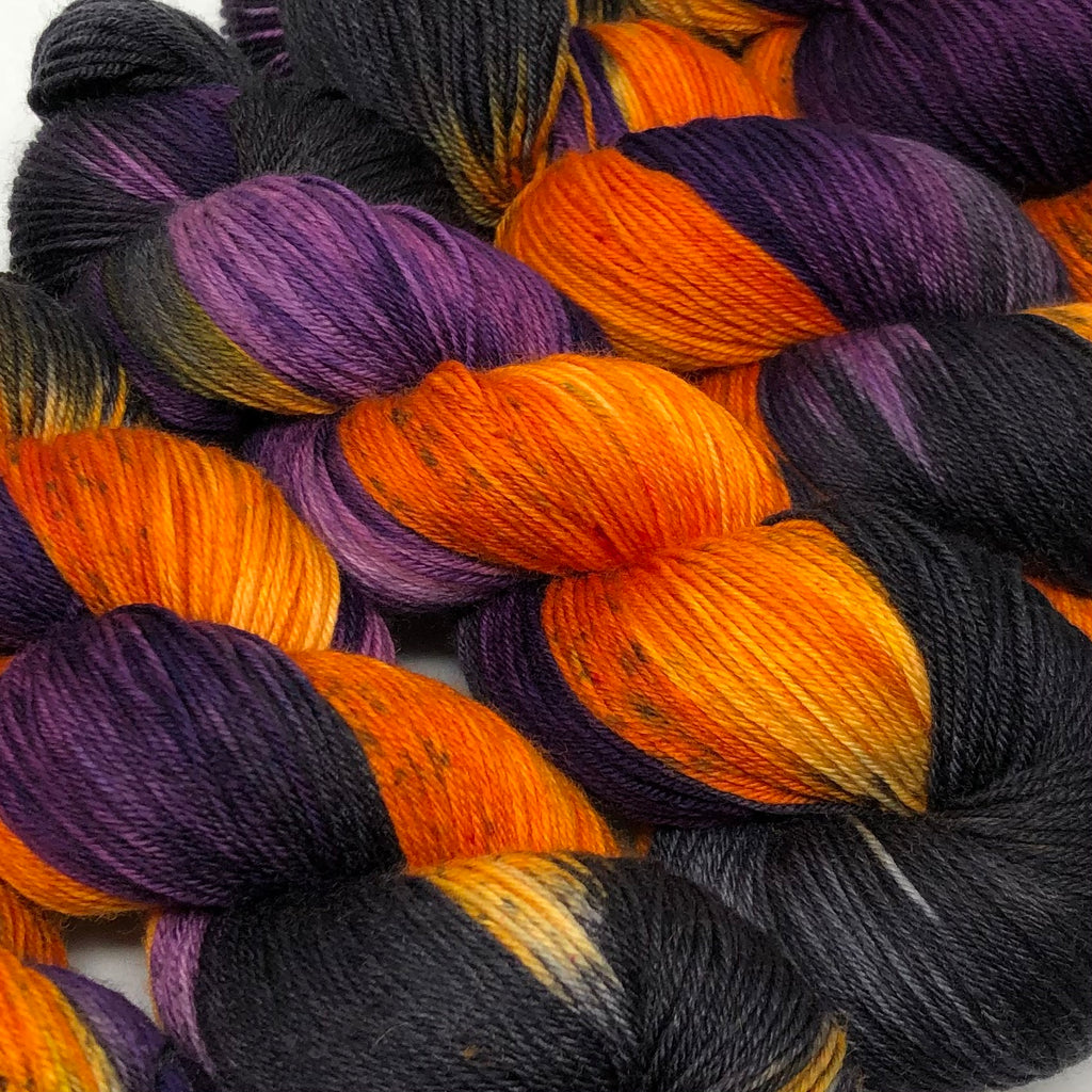 Good Juju Sock yarn Strange Brew
