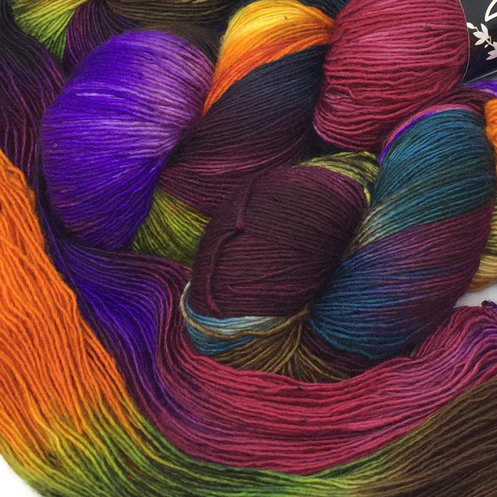 Inkling sock yarn color Lost In Translation