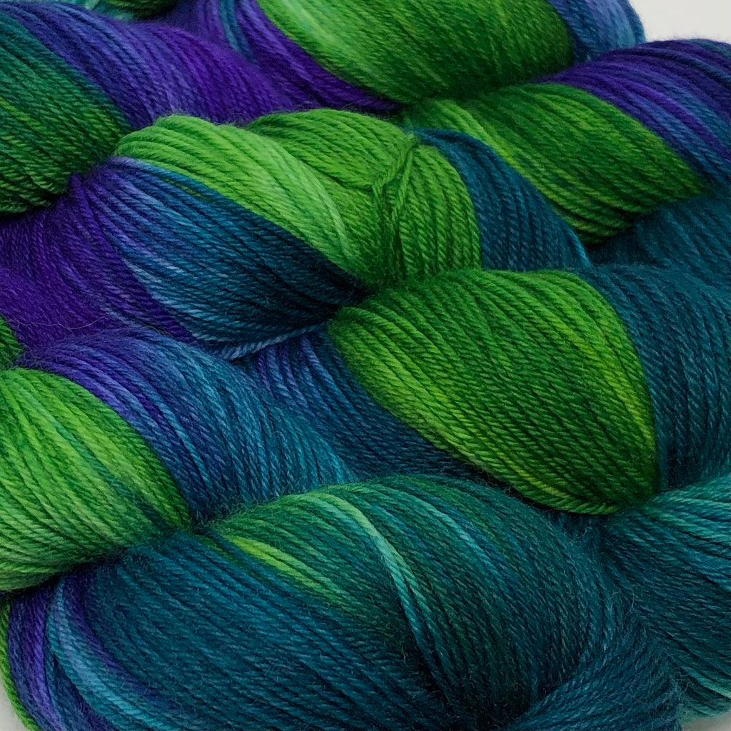 Good Juju Sock yarn Sea Dragon/Mojo