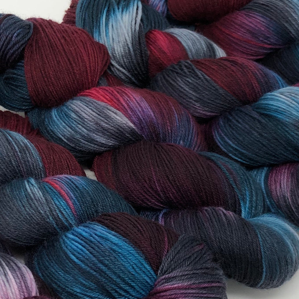 Good Juju Sock yarn Calling Birds