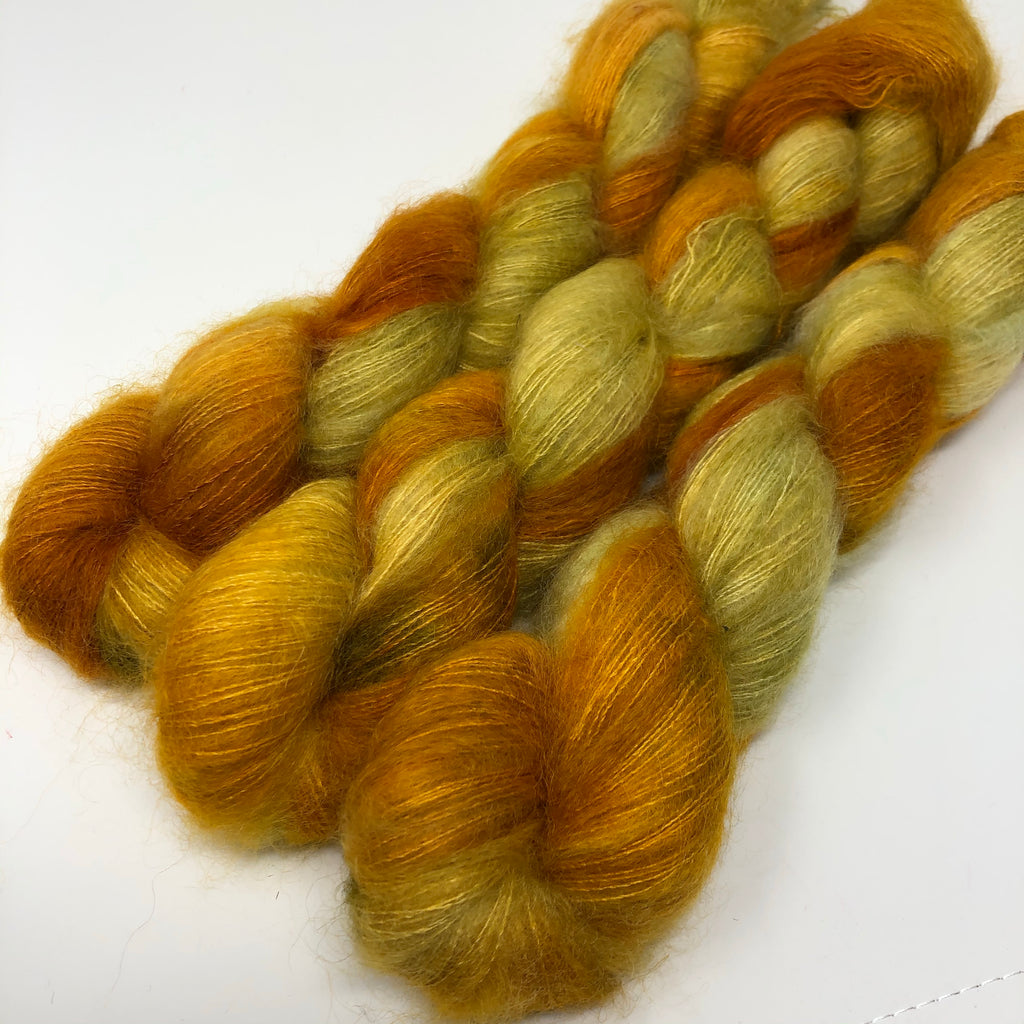 Fort Night Mohair and Silk Topaz