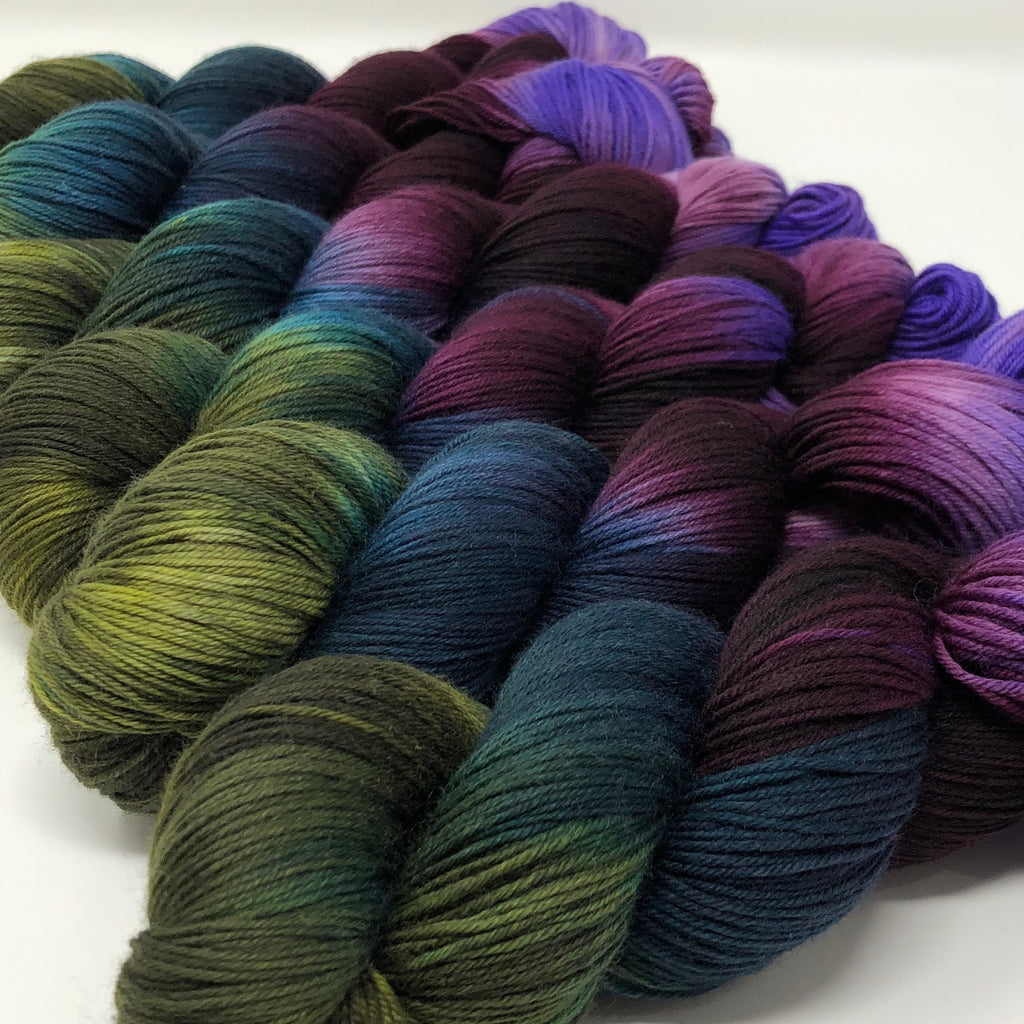 Good Juju Sock yarn Kodiak